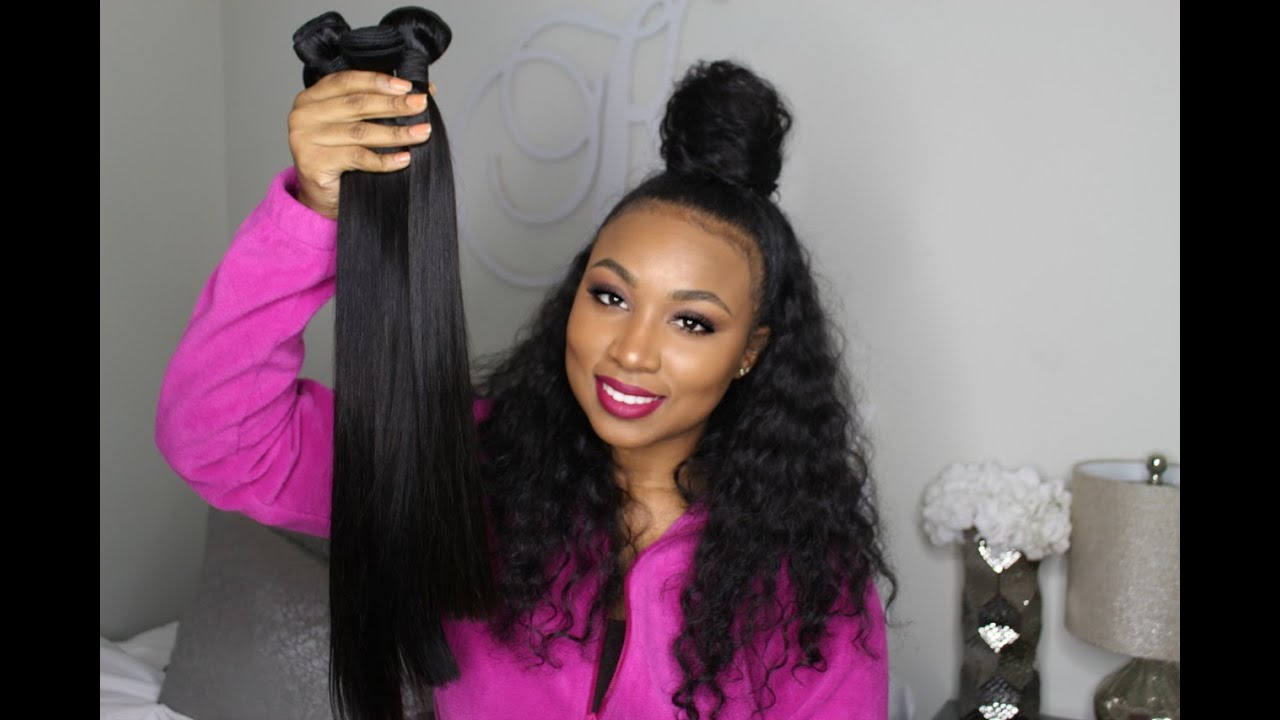 Her Hair Company Brazilian Straight |  Initial Review + Thoughts