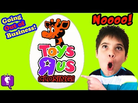 LAST TOYS R US HAUL! CLOSING All Stores Going Out of Business. HobbyKids SAD :(