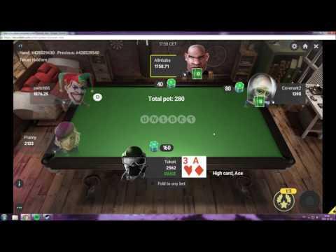 Unibet Poker Sit N Go Win