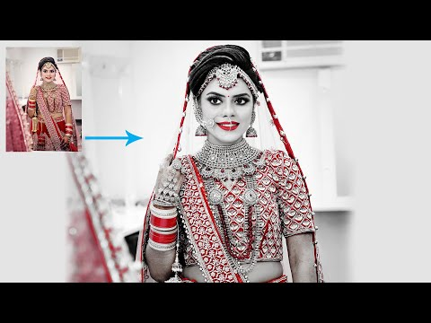 Create Most Beautiful Photo Effect For Wedding Bride In Photoshop CC
