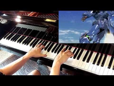 未来への咆哮 Asu e no Houkou Piano (MuvLuv Alternative OP)