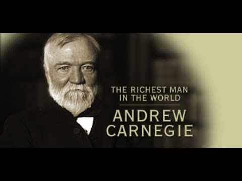 Andrew Carnegie,World of millionaires, industry giants, the richest in the world