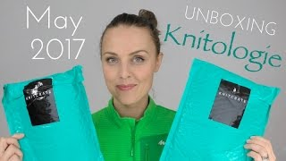 UNBOXING May 2017 Knitologie Yarn & Sock Club Crate + GIVEAWAY (closed)