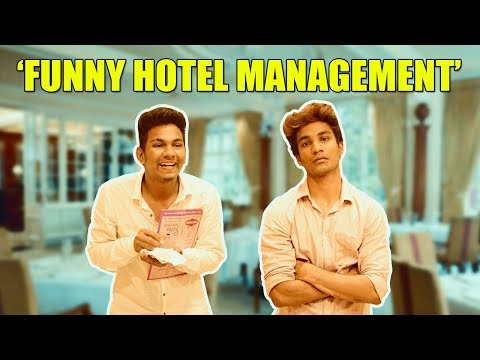 Funny Hotel Management Warangal Diaries