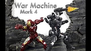 Bandai Tamashii Nations SH Figuarts MCU Infinity War MARK 4 WAR MACHINE Action Figure Toy Review