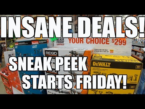 Home Depot Black Friday - We Got Early Access!