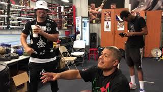 Kelly Pavlik vs GGG Robert Garcia & Mikey Garcia Talks Boxing With Baby Bash