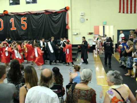 Omak High School Graduation 2015 Flash Mob