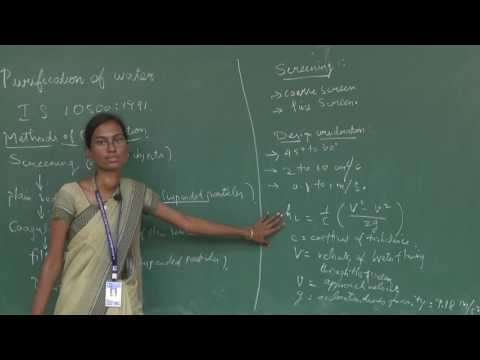 Purification of Water - Ms.K.S.Gayathri