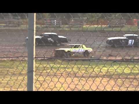 Ark La Tex Speedway tootsie smith factory stock hot laps 3