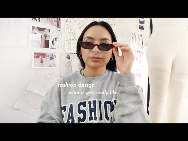 What It Was Like Being A Fashion Design Student At Fit Bachelor S Degree Youtube