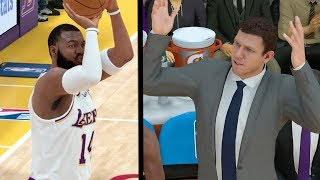 MOST POINTS SCORED on HALL OF FAME!! LeBron Technical Foul! Coach is Mad! NBA 2k19 MyCAREER Ep. 42