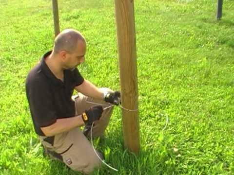 Recinzione elettrica gallagher youtube for Recinzione elettrica per cavalli