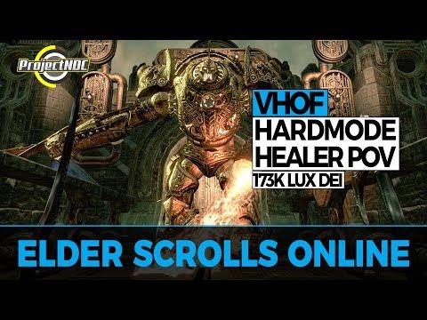 ESO - Halls of Fabrication Hardmode: Assembly General Healer POV (Clockwork City)