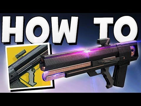 "Destiny 2 - HOW TO GET ""GRAVITON LANCE"" EXOTIC EASY !!!"