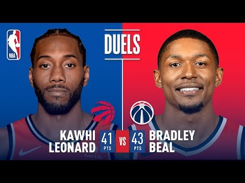 Bradley Beal and Kawhi Leonard DUEL IN D.C. | January 13, 2019 thumbnail