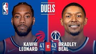 Bradley Beal and Kawhi Leonard DUEL IN D.C. | January 13, 2019