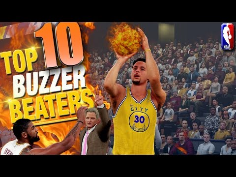 NBA 2K16 TOP 10 BUZZER BEATERS & Game Winning Shots #3