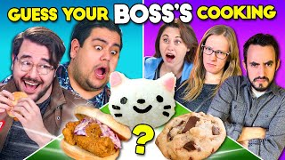 Employees Try Guessing Their Boss's Cooking