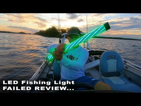 Green LED Fishing Light Review - Does It Attract Fish?
