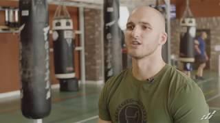 Как правильно бить по груше.Урок от чемпиона России по силе удара Дмитрия Спиричева.