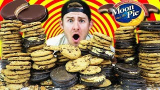 THE IMPOSSIBLE MOONPIE COOKIE MOUNTAIN! (28,000+ CALORIES)
