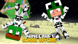 Minecraft -BABY SCHOOL DAYCARE - SAVING THE ALIENS!