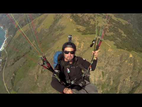 GoPro HD Paragliding Big Sur with SBSA