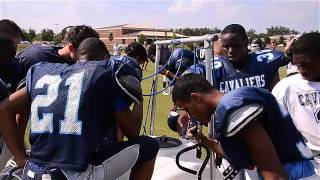 Dorman High School football practice