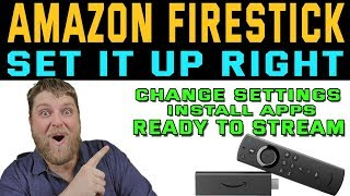 4K FIRESTICK FULL SETUP GUIDE  |  Set it up The Right Way