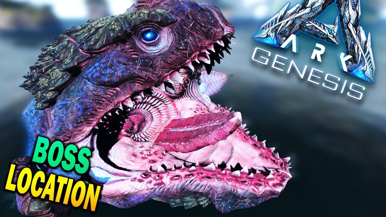 Ark Genesis Alpha Eel Boss Fight & Location Ark Moeder Boss Battle How To Defeat