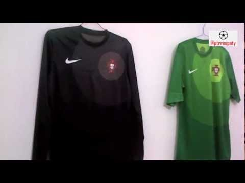 9d924a34241 Portugal GK Jersey 2012/2013 (Player Issue) - YouTube
