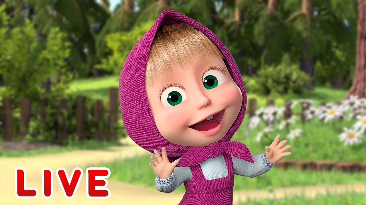 Download 🔴 LIVE STREAM 🎬 Masha and the Bear 🐻👱♀️ We will rock you! 🤘🎸  Best episodes 🔥