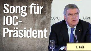 """""""Hey, Thomas Bach!"""" – Ein Lied für den IOC-Präsidenten"""