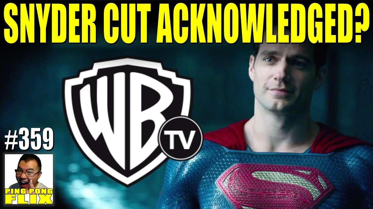 DID WB ACKNOWLEDGE THE SNYDER CUT? – The Batman, The Flash, WBTV on Snyder  Cut