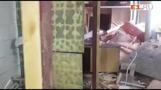В Екатеринбурге сносят кафе у Главпочтамта