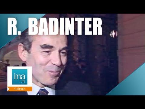 """Robert Badinter """"Victor Hugo et la peine de mort"""" - Archive INA"""