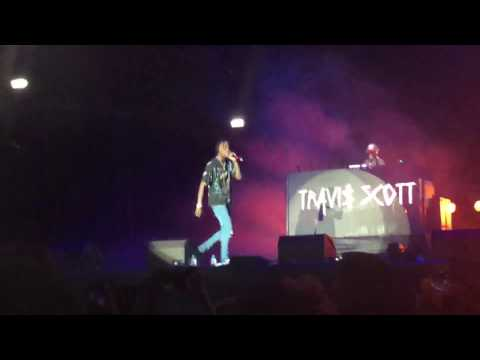 TRAVIS SCOTT @ BEATS ON THE BEACH ABU DHABI 2016 LIT