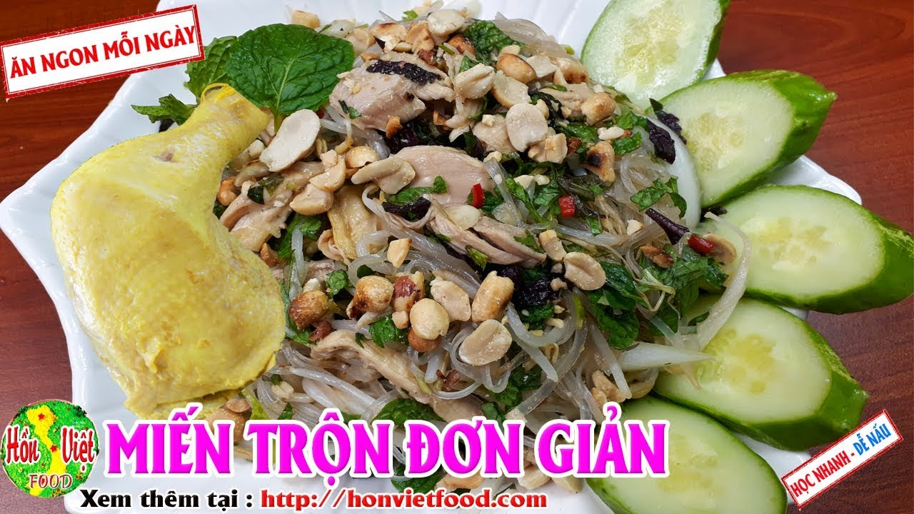 ✅ Làm Miến Trộn Tại Nhà Chi Tiết Ngon Nhất | Hồn Việt Food