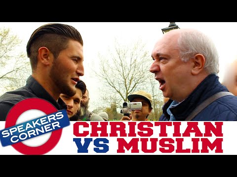 Irish Christian vs English Muslim | Religious Debate | Speakers Corner