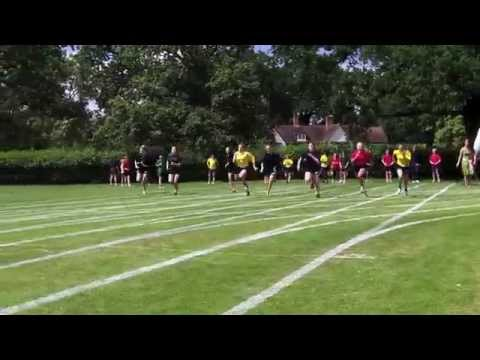 Lambrook School Sports Day 2014