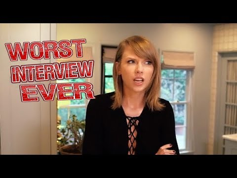 Taylor Swift – Worst Interview Ever!  #Trend