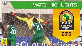 Algeria vs Nigeria | U-23 Africa Cup Of Nations, SENEGAL 2015