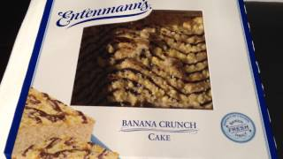 Entenmanns Banana Crunch Cake Review