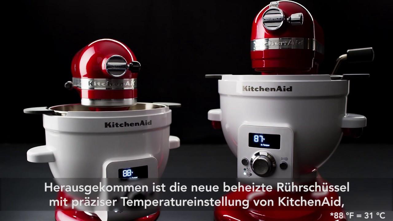 Original Zubehor Kitchenaid Beheizte Ruhrschussel Mit
