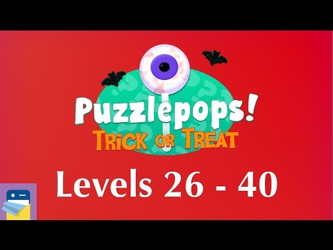 Puzzlepops! Trick or Treat: Levels 26 - 40 (The Attic) Walkthrough Guide (by Layton Hawkes)