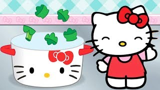 Fun Kitchen Cooking Game For Kids - Hello Kitty Lunchbox - Cute Cooking and Baking To Go