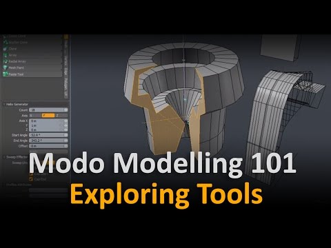 Modo Modelling: Briefly Exploring Common Tools