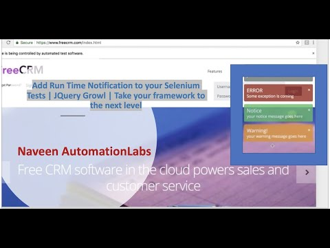 Execute Jquery using Selenium JavaScriptExecutor || Take your framework to  the next level