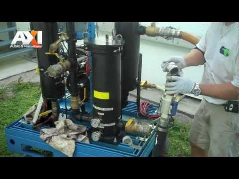 AXI Diesel Fuel Tank Cleaning - YouTube